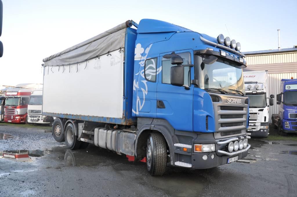 Scania R500 LB 6X2*4MN, Flisbilar, Transportfordon