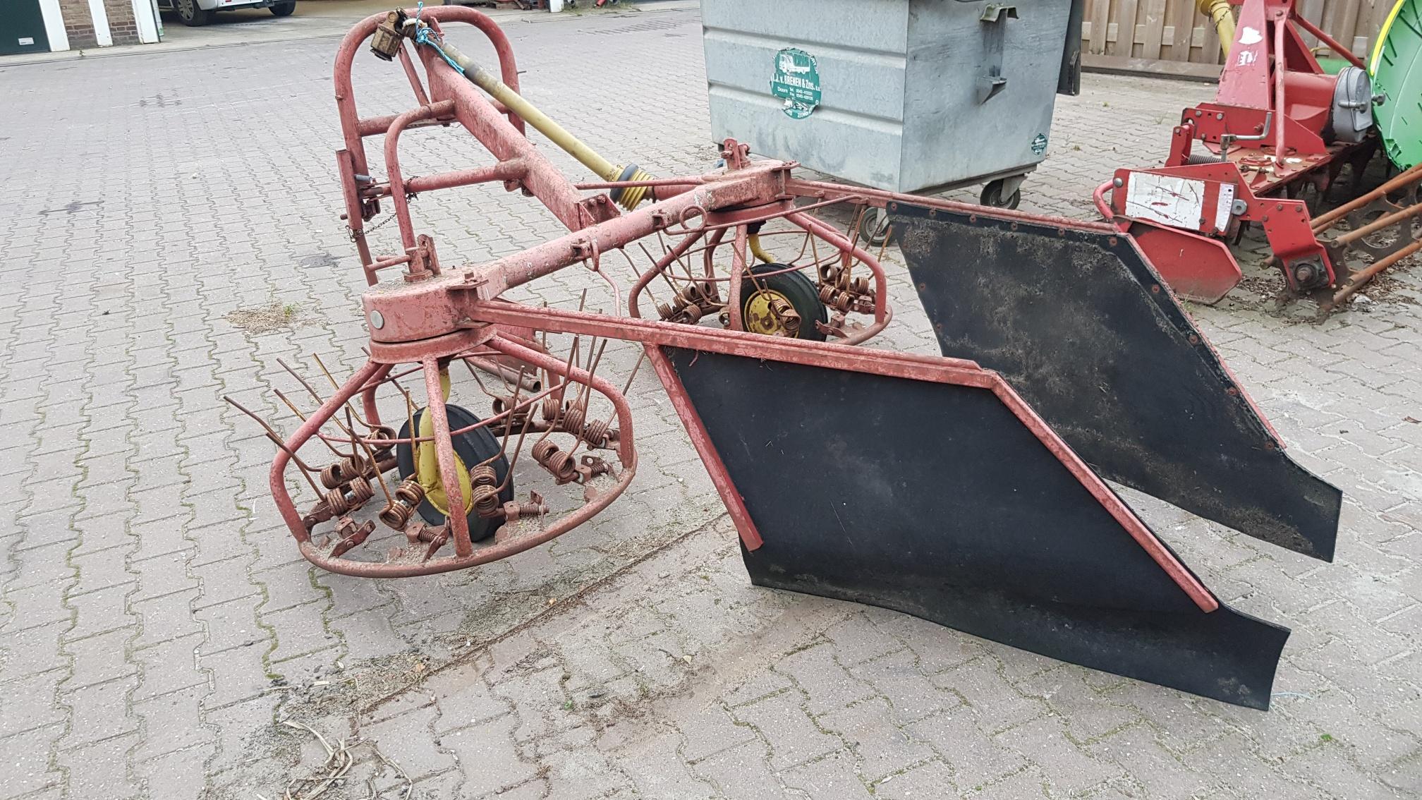 PZ strela schudder/zwadhark, Zwadharken, Landbouw