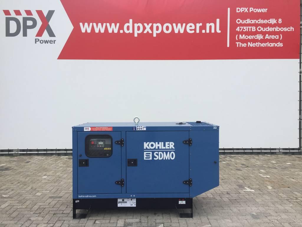Sdmo J33 - 33 kVA Generator - DPX-17101, Diesel generatoren, Bouw