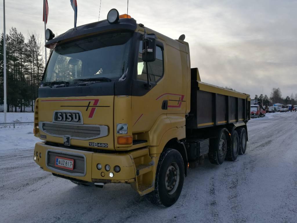 Sisu E12M, Sora- ja kippiautot, Kuljetuskalusto