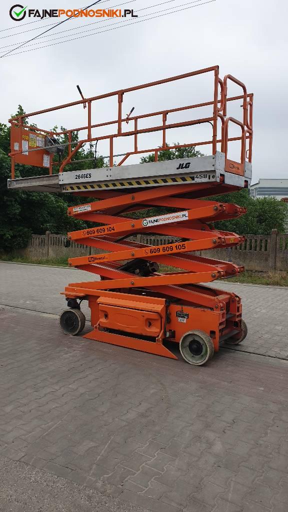 JLG 2646 ES, Podnośniki nożycowe, Maszyny budowlane