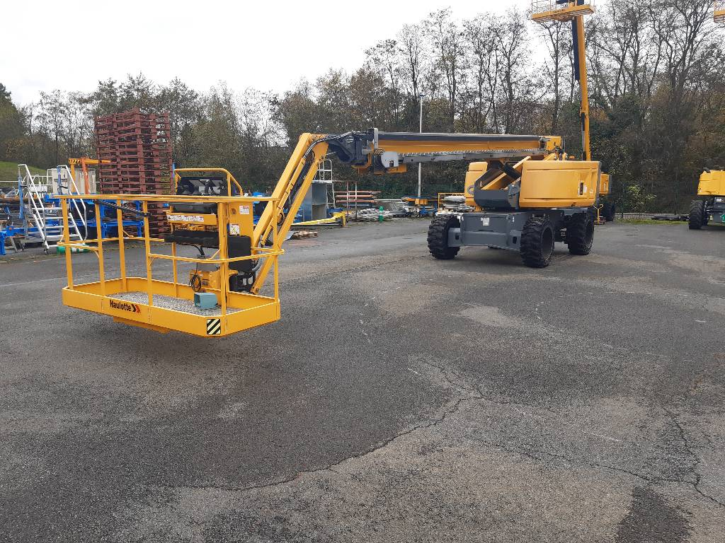 Haulotte HT28 RTJ O, Telescopic boom lifts, Construction Equipment