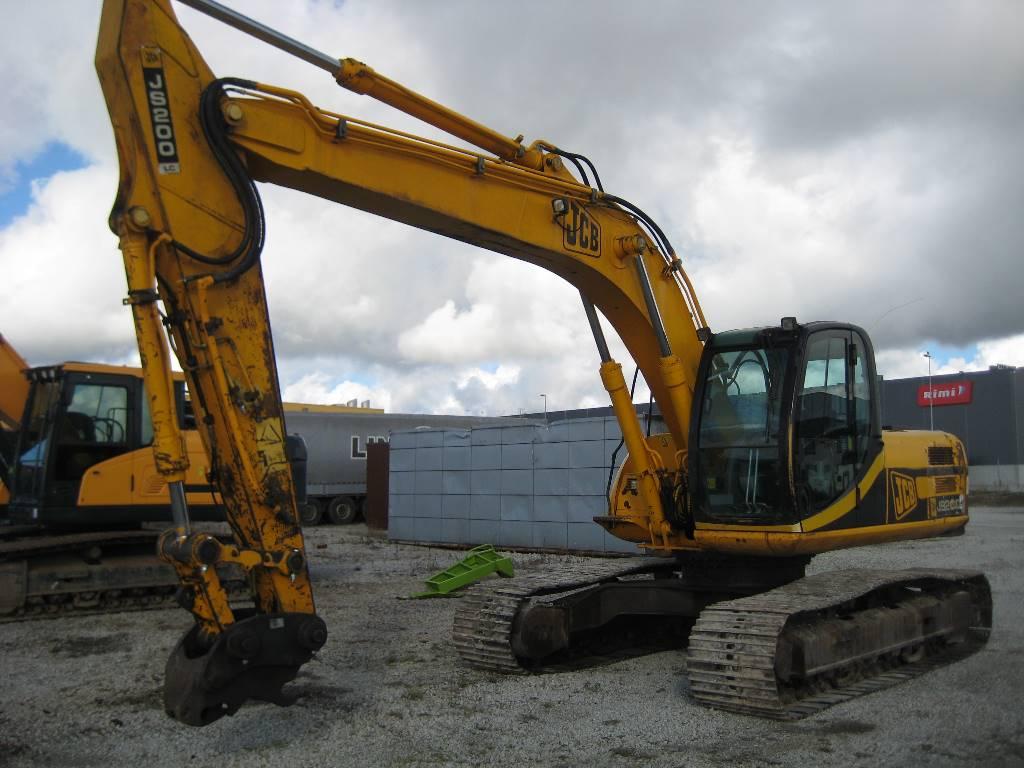 JCB JS200, Crawler excavators, Construction