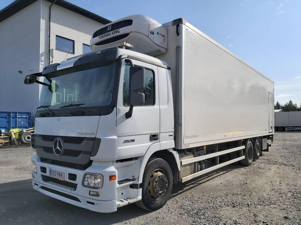 Mercedes-Benz Actros 2536 Kylmäkori + PL, Kylmä-/Lämpökori kuorma-autot, Kuljetuskalusto