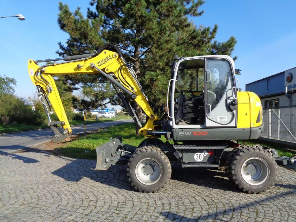 Wacker Neuson EW100, Wheel excavators, Products