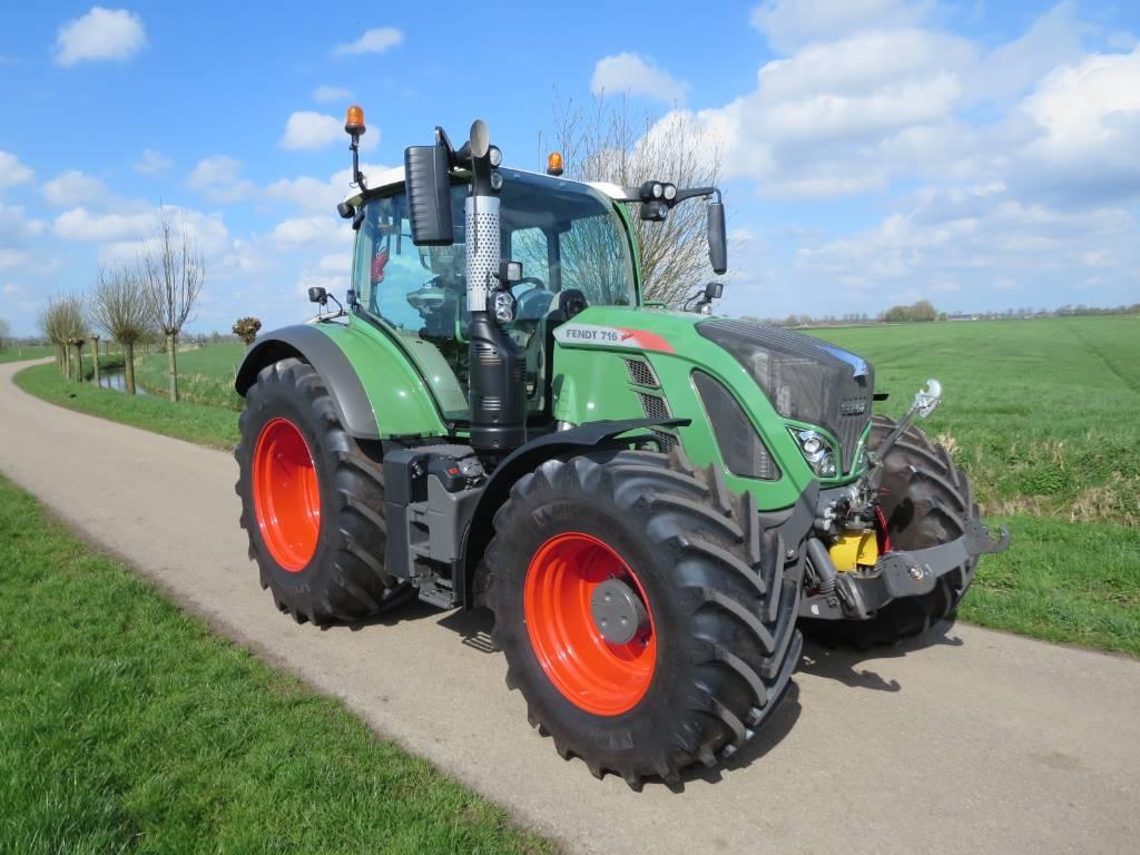 Fendt 716 s4 profi plus gps, Tractoren, Landbouw