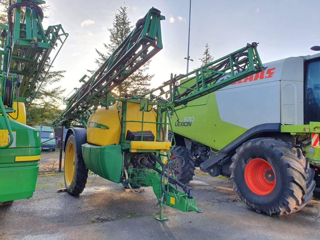John Deere 740 i, Haagispritsid, Põllumajandus