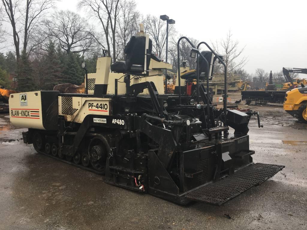 Blaw-Knox PF 4410, Asphalt pavers, Construction Equipment