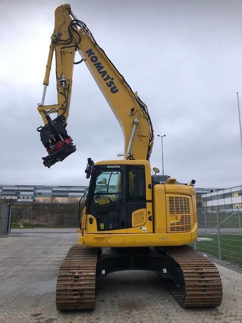 Komatsu PC228USLC-11, Crawler Excavators, Construction Equipment