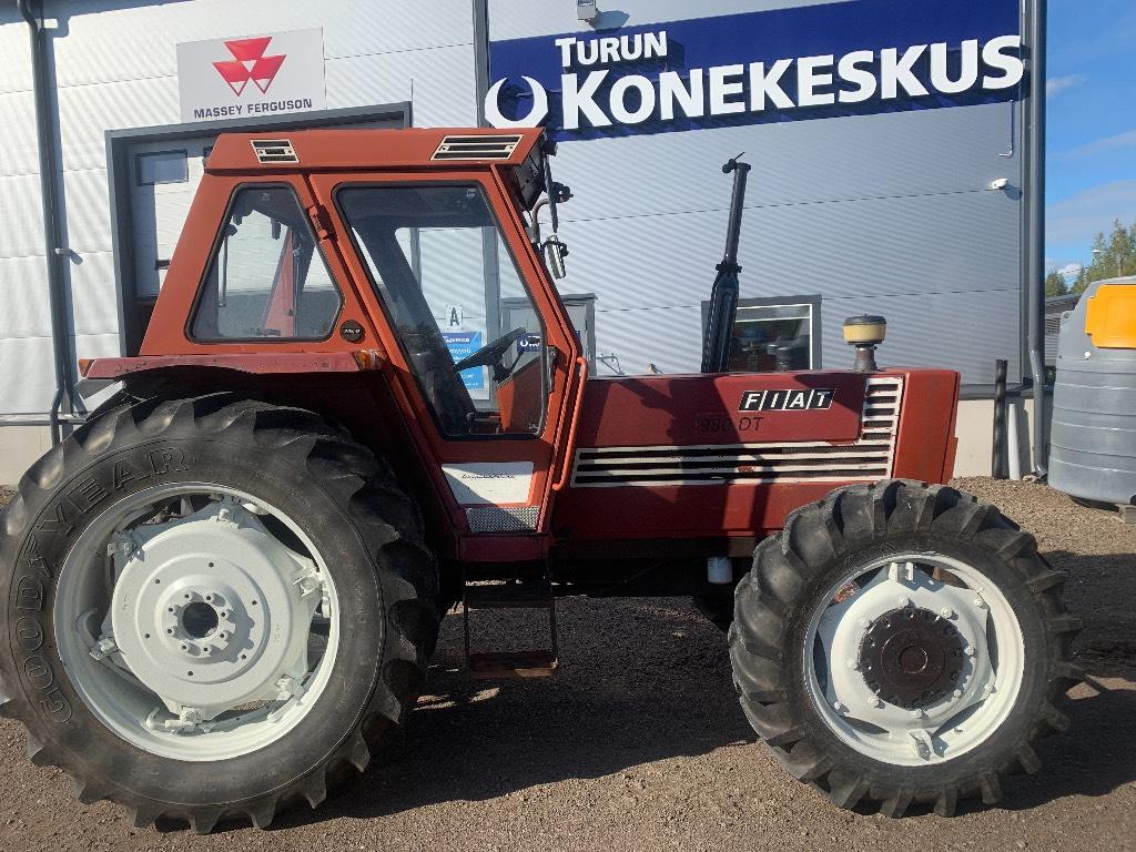 Fiat 980 DT, Traktorit, Maatalous