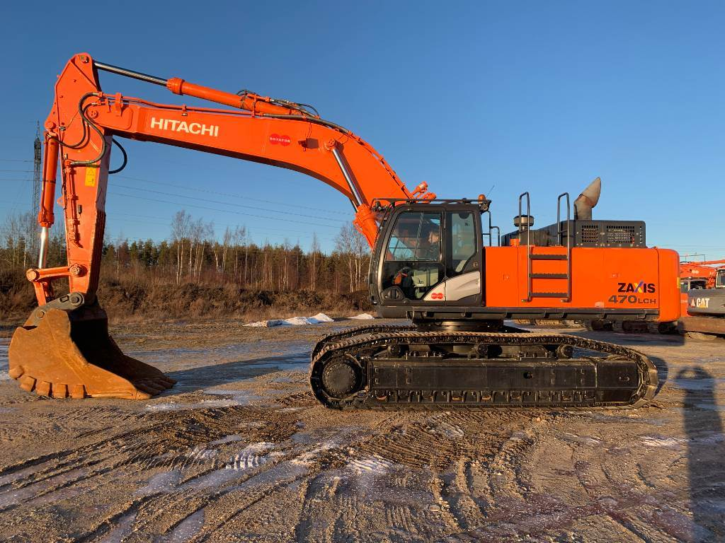 Hitachi ZX470LCH-5, Crawler Excavators, Construction Equipment