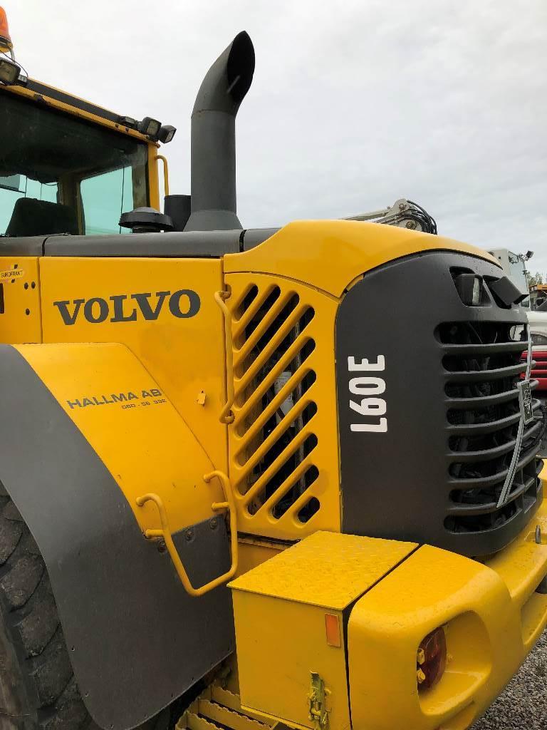 Volvo L60E, Hjullastare, Entreprenad