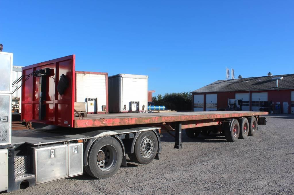 Kel-Berg D 100 V XL, Semi-trailer med lad/flatbed, Transport