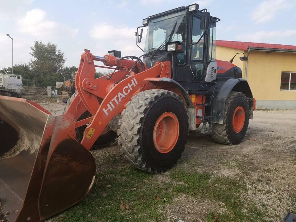 Hitachi ZW140, Wheel Loaders, Construction Equipment