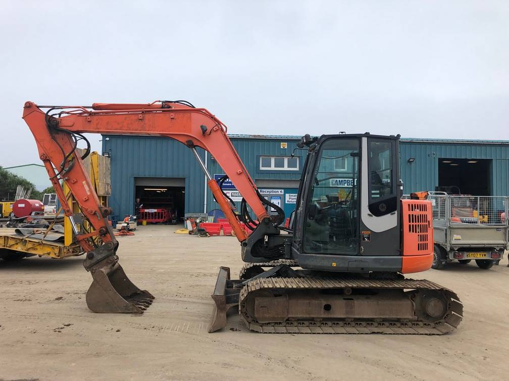 Hitachi ZX 85 US B LC-3, Midi excavators  7t - 12t, Construction