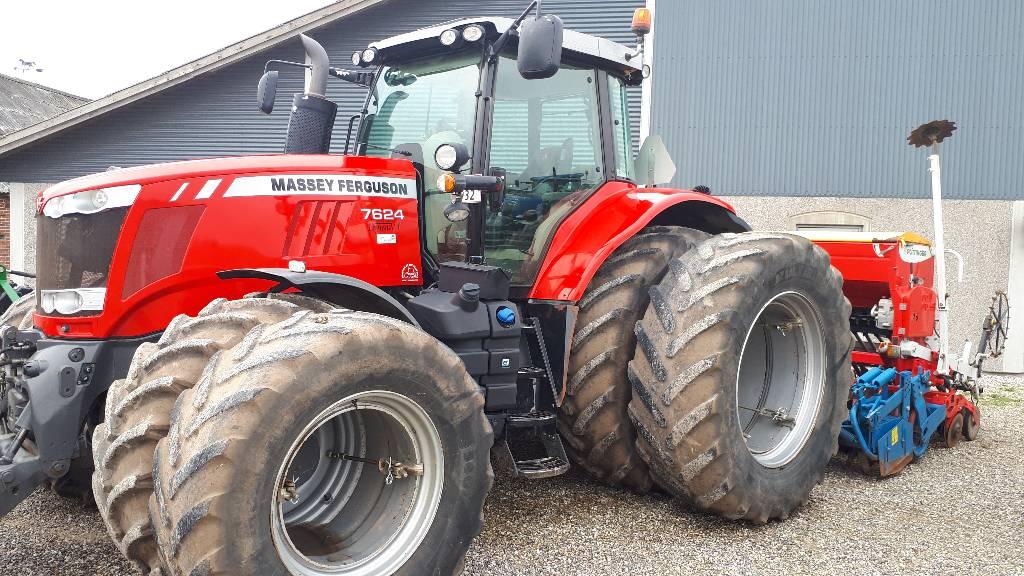Massey Ferguson 7624 Dyna VT, Traktorer, Landbrug