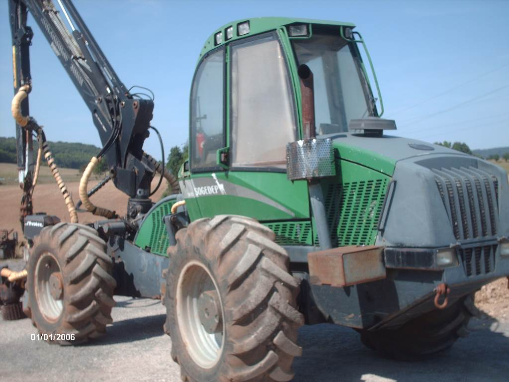 Sogedep SH25, Harvesters, Forestry