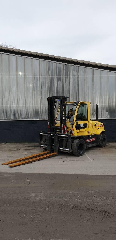 Hyster H8.0FT-6, Diesel counterbalance Forklifts, Material Handling