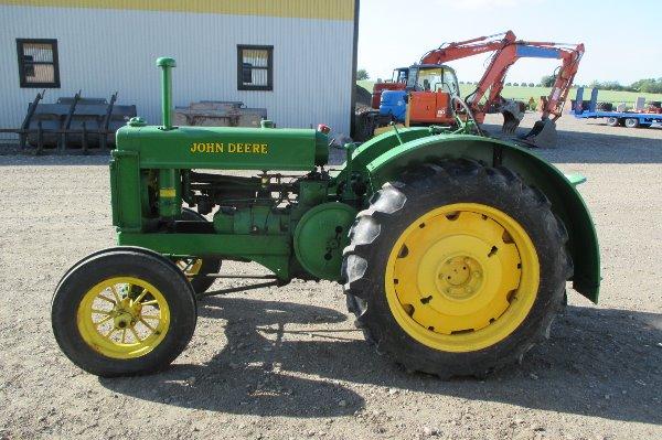 John Deere BR veterantraktor, Lantbruksmaskiner, Lantbruk