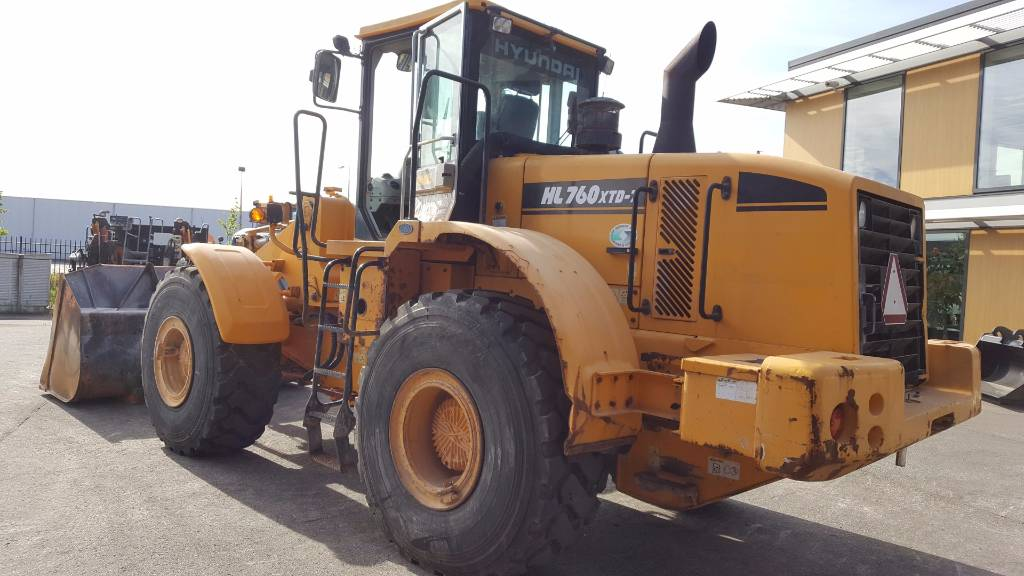 Hyundai HL 760 XTD-7, Wheel Loaders, Construction Equipment