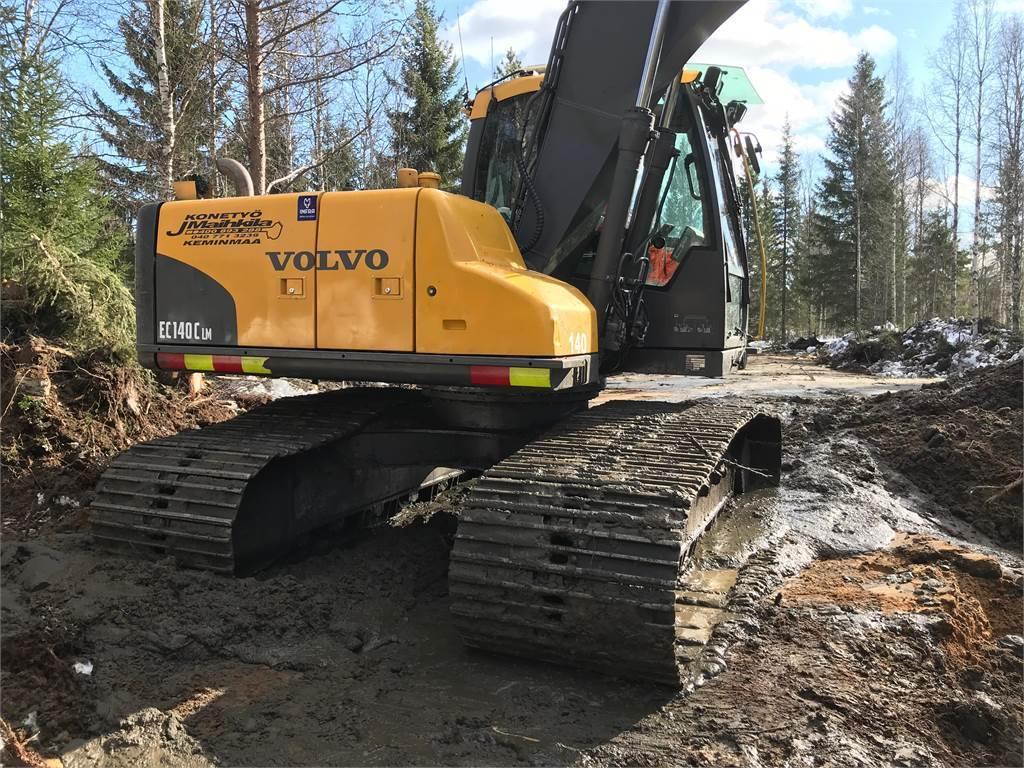 Volvo EC140 CLM, Crawler Excavators, Construction Equipment