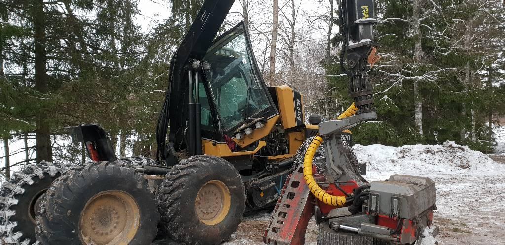Eco Log 590 D, Skördare, Skogsmaskiner