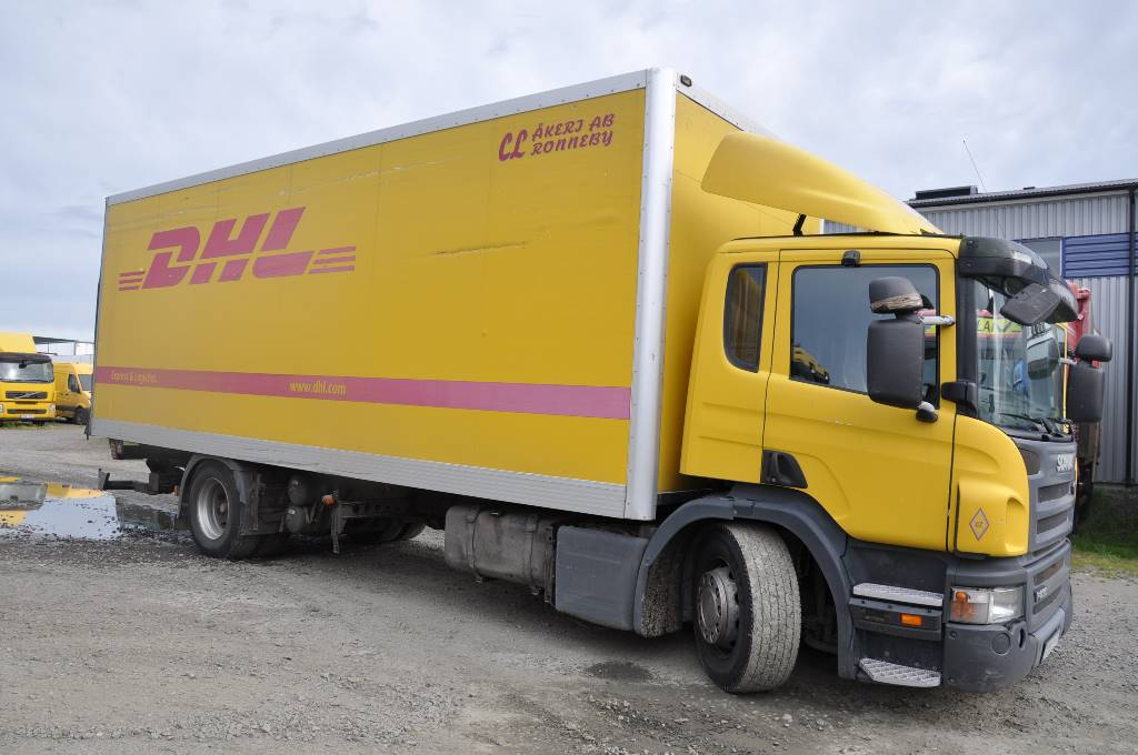 Scania P230 DB4X2 HLB, Skåpbilar, Transportfordon