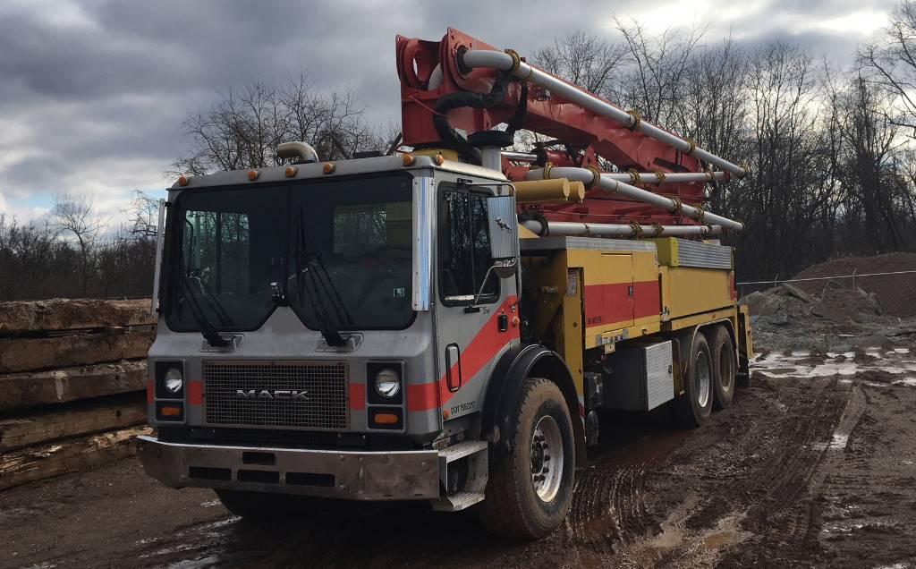 Putzmeister 36X-180, Boom Pumps, Construction Equipment
