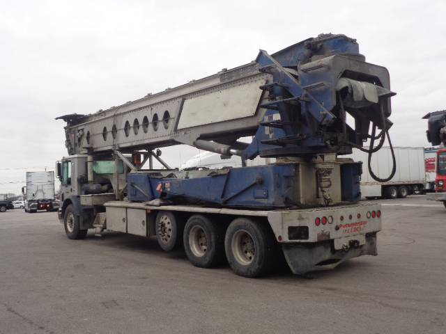 Putzmeister Telebelt TB 110, Boom Pumps, Construction Equipment