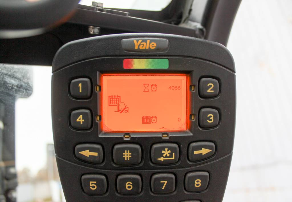 Yale ERP20VT MWB, Electric counterbalance Forklifts, Material Handling