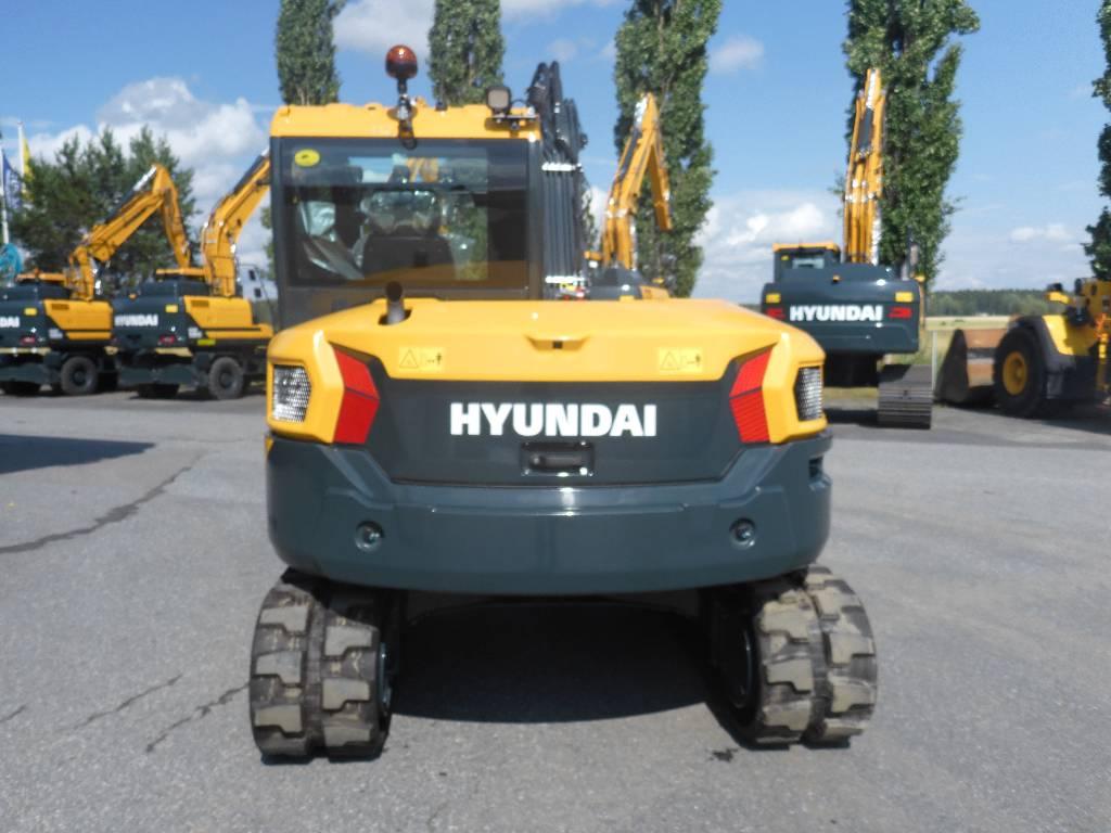 Hyundai HX85A, Midikaivukoneet 7t - 12t, Maarakennus