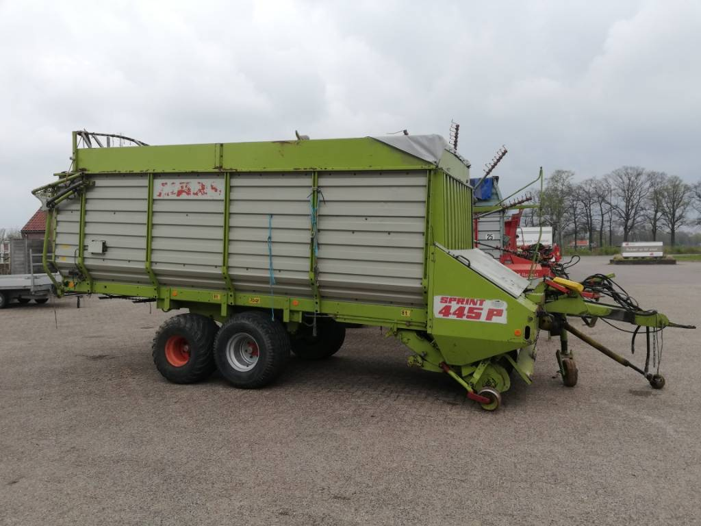 CLAAS Sprint 445 p, Speciality Trailers, Agriculture