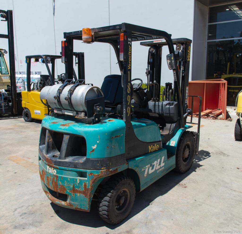 Yale GLP25RK, LPG counterbalance Forklifts, Material Handling