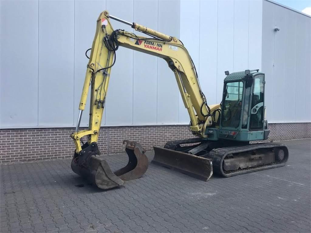 Yanmar SV100 MINIGRAVER, Mini excavators < 7t (Mini diggers), Construction