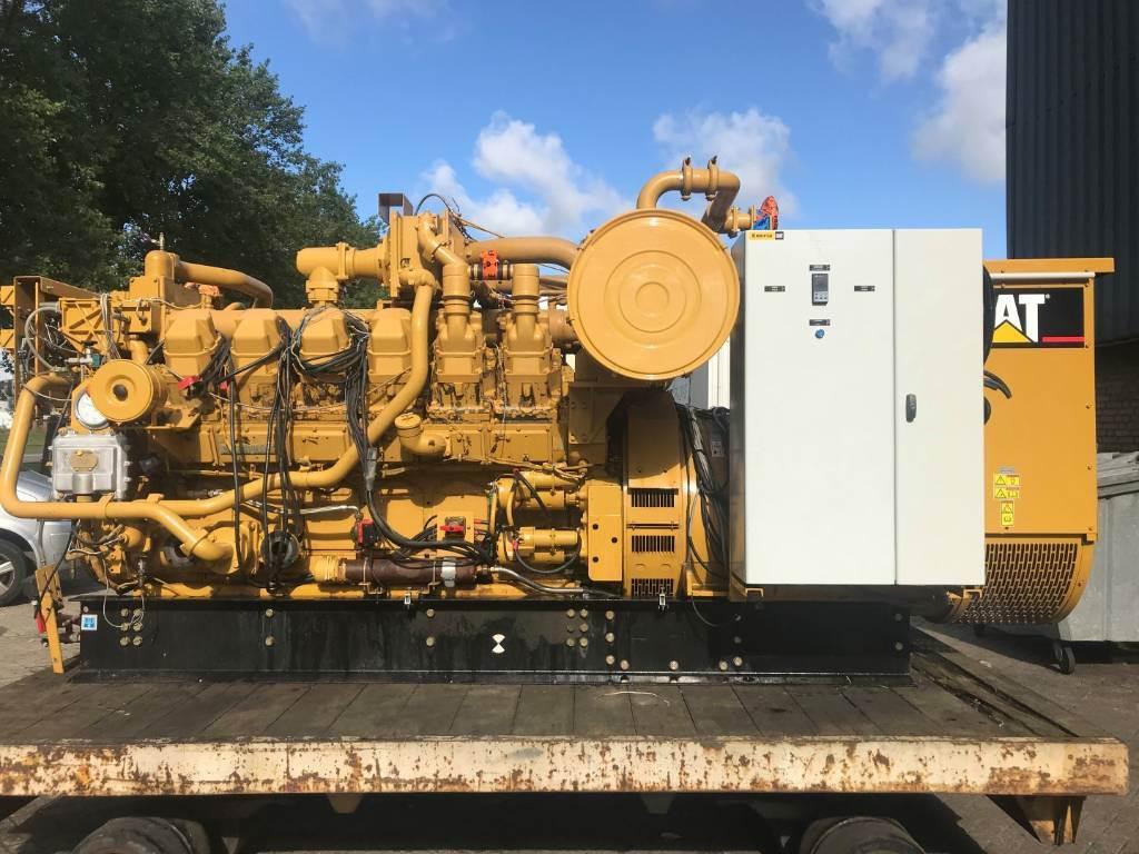 Caterpillar G 3512 - 956 kVa - Generator Set - DPH 105680, Electric Power Generator, Construction