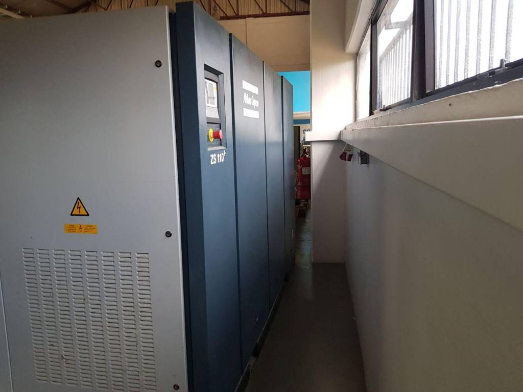 Atlas Copco ZS 110+ Direct available, Compressors, Industrial