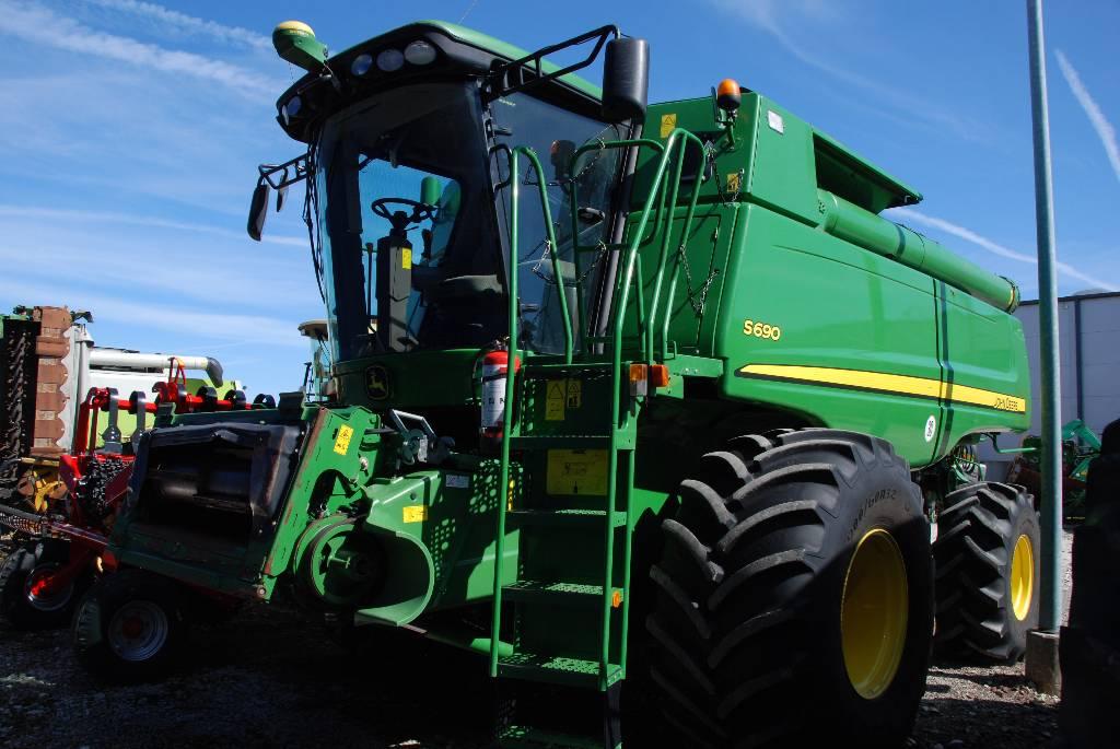 John Deere S 690, Kombainid, Põllumajandus