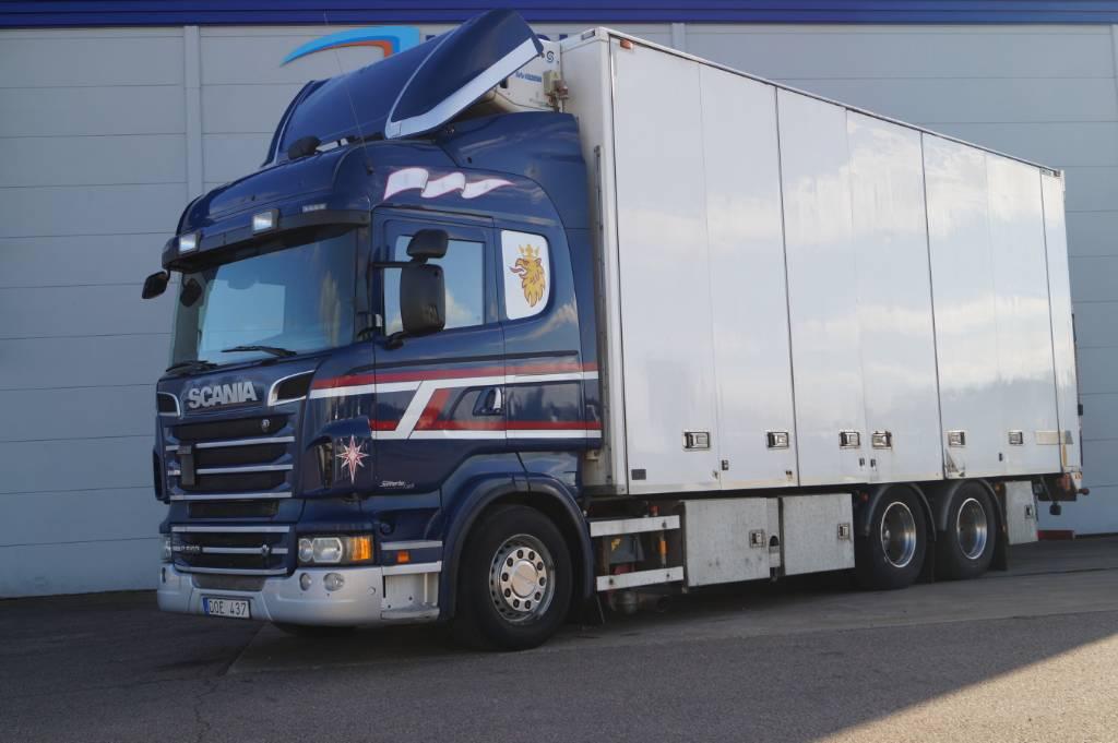 Scania R 560 LB - 2013, Skåpbilar Kyl/Frys/Värme, Transportfordon