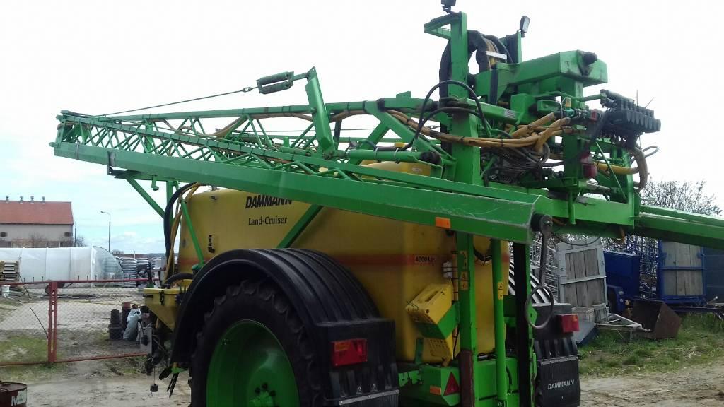 Dammann ANP 4028, Opryskiwacze zaczepiane, Maszyny rolnicze