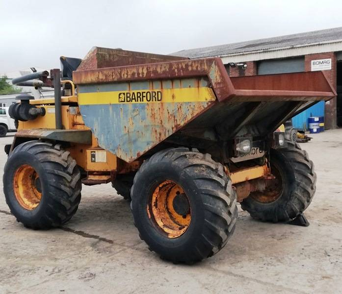 Barford SX 9000, Articulated Dump Trucks (ADTs), Construction