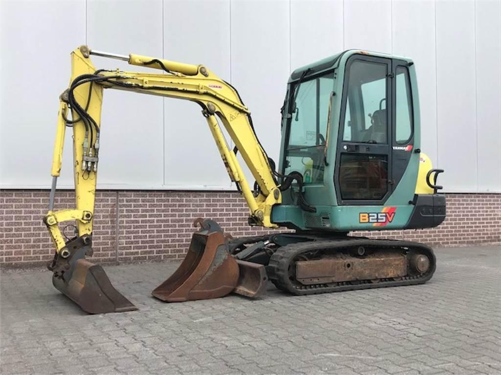 Yanmar B25 MINIGRAVER, Mini excavators < 7t (Mini diggers), Construction