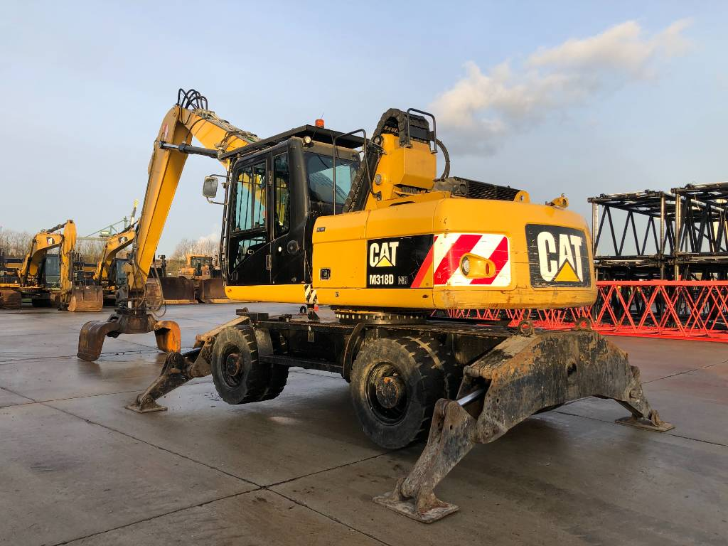 Caterpillar M 318 D MH (incl CATG315B Grab), Waste / industry handlers, Construction