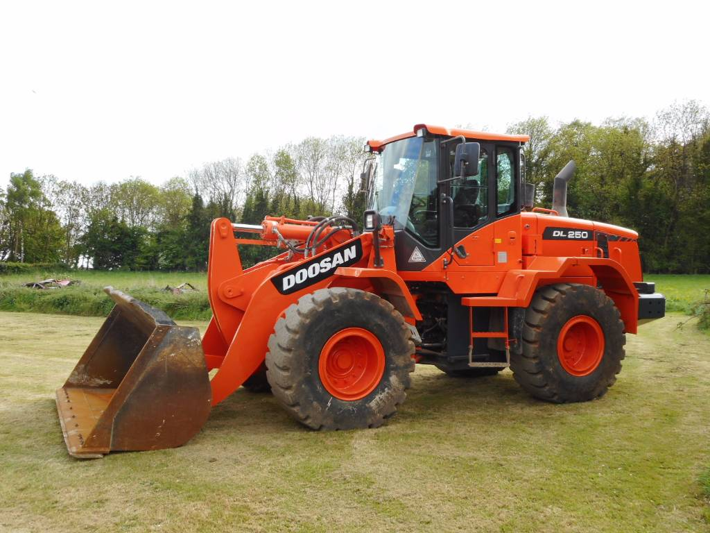 Doosan DL 250-3, Wheel loaders, Construction
