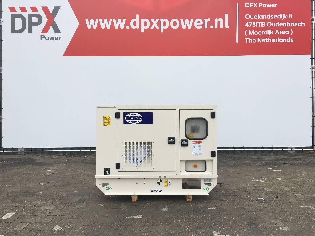 FG Wilson P22-6 - 22 kVA Generator - DPX-16002, Diesel generatoren, Bouw
