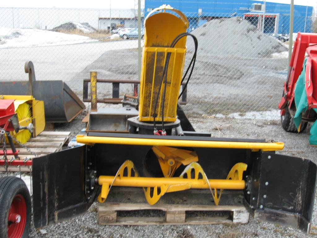 Optimal snöfräs 120, Kompakttraktor-tillbehör, Grönytemaskiner