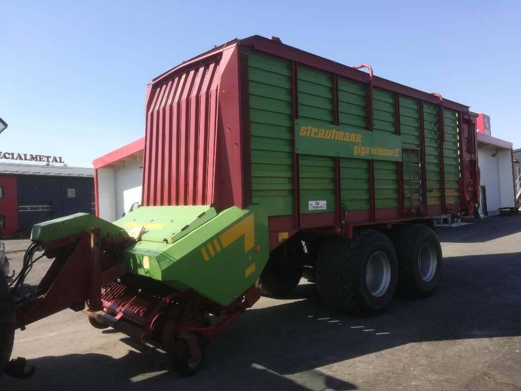 Strautmann Giga-Vitesse III, Keräävät noukinvaunut ja silppurivaunut, Maatalous
