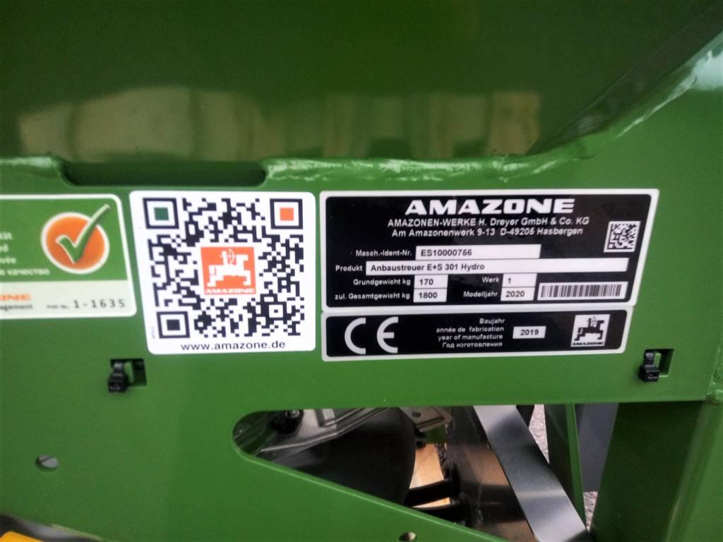 Amazone E+S 301 Hydro, Hiekan- ja suolanlevittimet, Maatalous