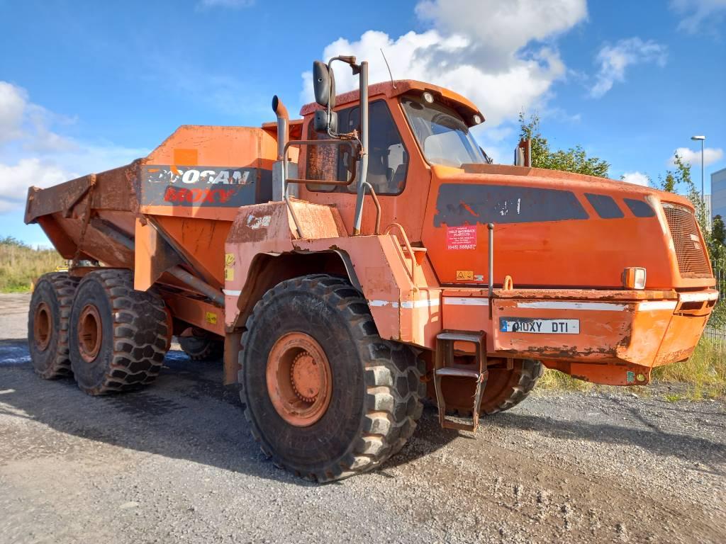 Doosan MT 41, Articulated dump trucks, Construction Equipment