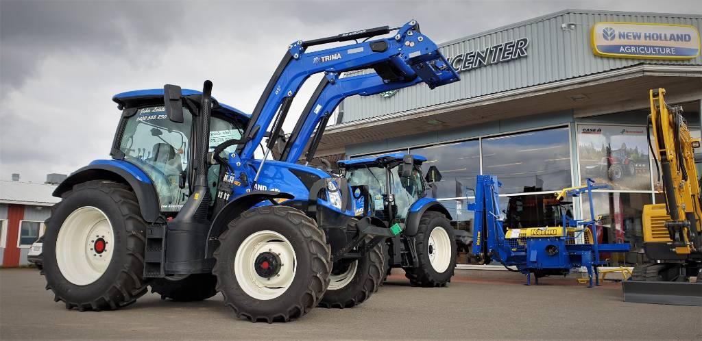 New Holland T6.145 EC50, Traktorit, Maatalous