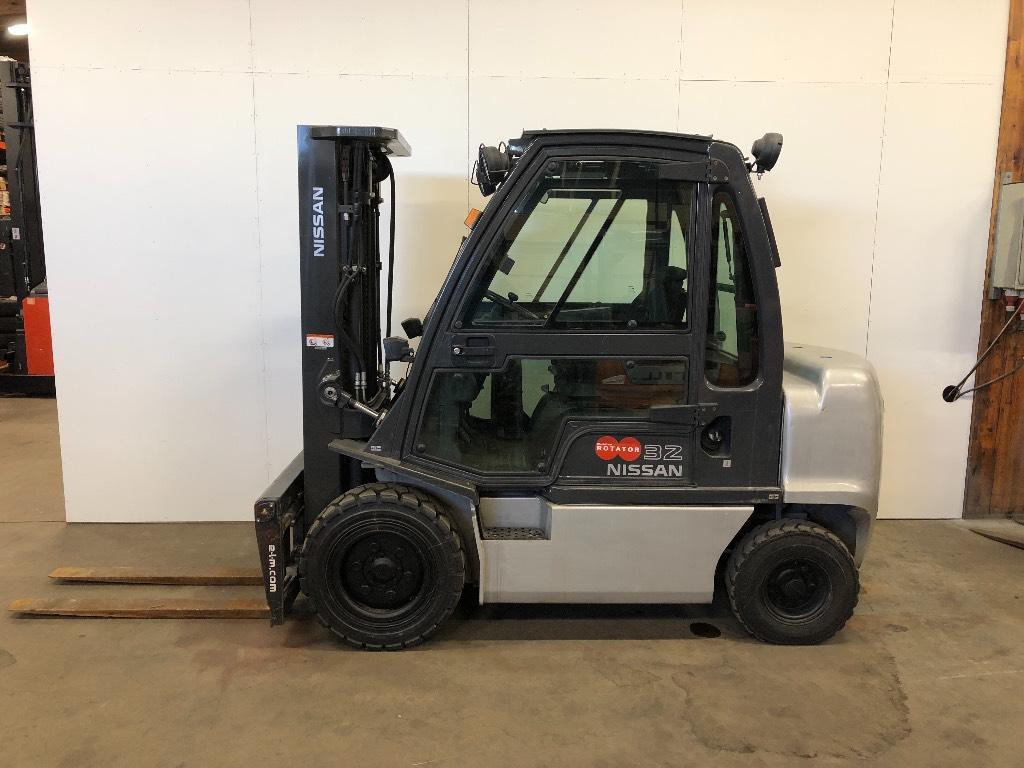 Nissan YG1D2A32Q, Dieseltrukit, Materiaalinkäsittely